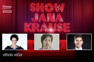 Upoutávka na Show Jana Krause 8. 2. 2017