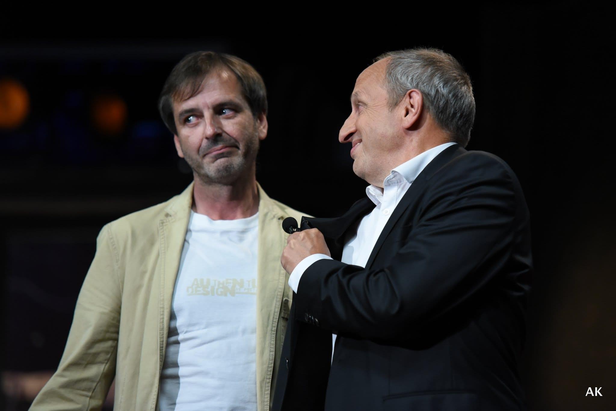 Pan Odvárka v Show Jana Krause 22. 6. 2016