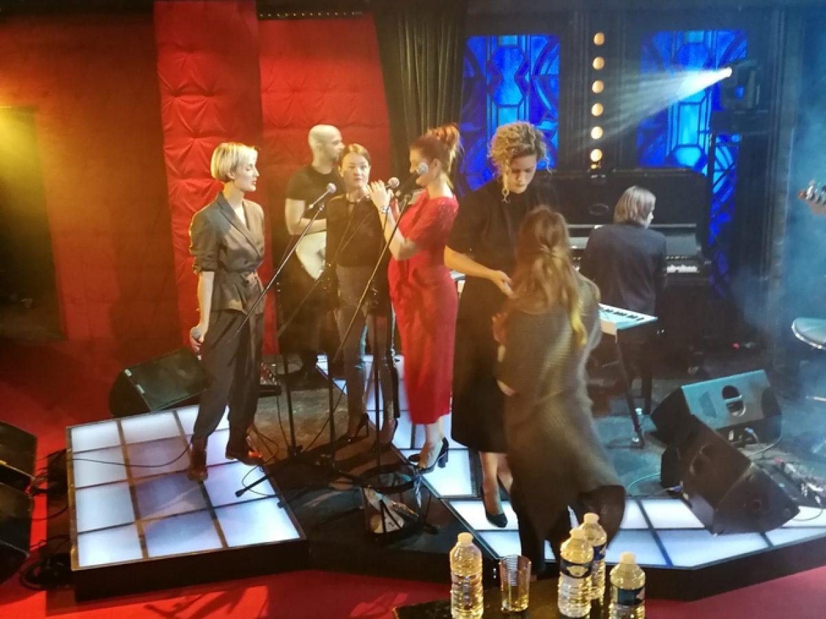 Bára Poláková vShowJanaKrause 3.10.2018